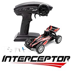 - Adjustable 25-200mw Real-time Hobby-grade FPV Video Transmission System - 1/24th scale on-road buggy design perfect for indoor racing - Plastic racing canopy and spoiler for slick racing look and distinct design - Rear friction coil shocks for smoo...