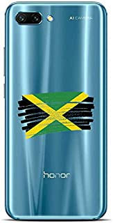 ZOKKO Case for Huawei Honor 10 Jamaican Flag Design
