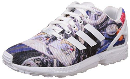 adidas Herren ZX Flux Sneaker, Mehrfarbig, 44 2/3 EU