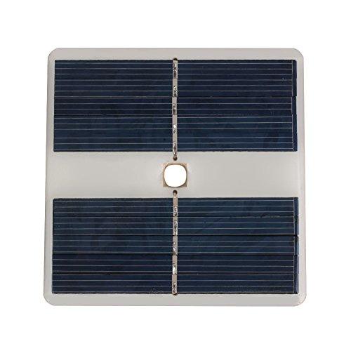 Cewaal Pannello a energia solare in polisilicio 10LED 5V per la luce della lampada di sport all'aperto di campeggio