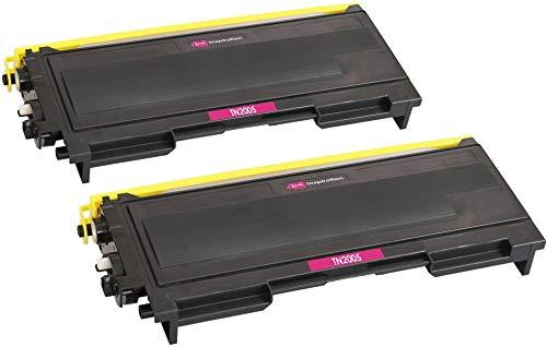2 Premium Toner kompatibel für Brother TN2005, HL-2035, HL-2037, HL-2037E | 1.500 Seiten