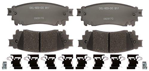 ACDelco Gold 17D1805CH Ceramic Rear Disc Brake Pad Set
