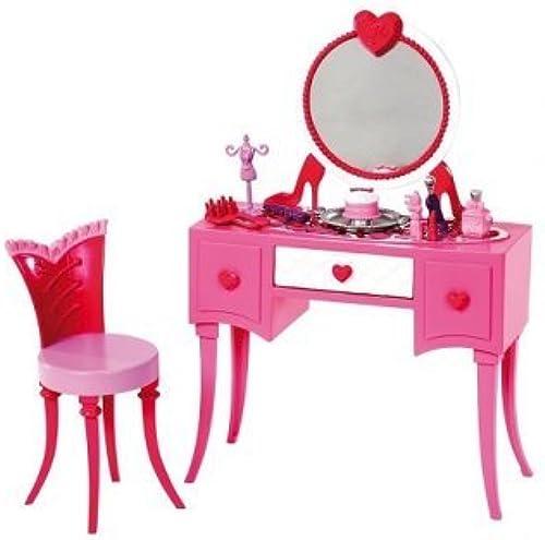 Barbie Mattel - Coiffeuse Glamour Accessoire Maison poupée