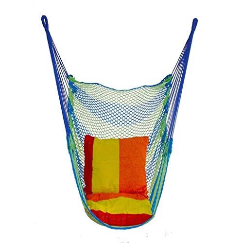 Schaukel Hängesessel Kinder Schaukel Indoor Home Outdoor Geflochtener Stuhl Hängekorb Tragbare Hängematte Camping Garten Schaukel