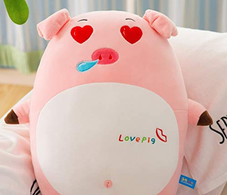 Generic Schwein Puppen, Kinder schlafen Kissen Pfahl nach unten Baumwolle Plüsch Spielzeug, Kissen Kissen