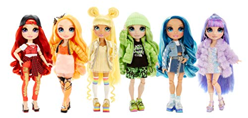 Rainbow Surprise Rainbow High Skyler Bradshaw – Blue Fashion Doll with 2 Outfits
