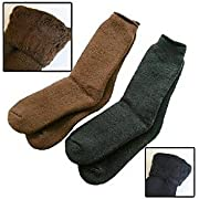 35° Below Socks - Black, Large
