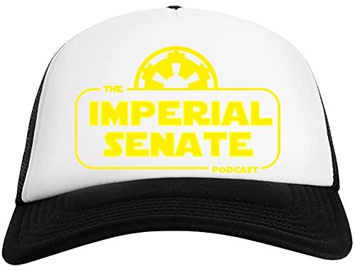 Imperial Senate Logo - Imperial Senate Podcast Gorra De Béisbol para Hombre y Mujer con Malla Trasera Mens Womens Baseball Cap Mesh Back