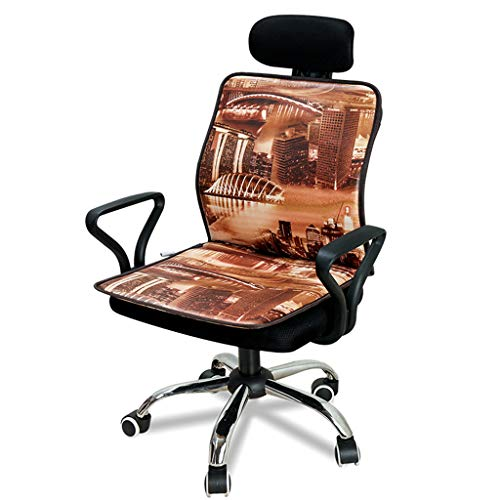 OCYE elektrisch zitkussen met temperatuurregelaar en timer, thermostaat, snelle verwarming, universele stoelverwarming, 46 × 100 cm