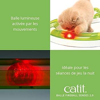 Catit 2.0 Senses - Jouet balle lumineuse pour chat
