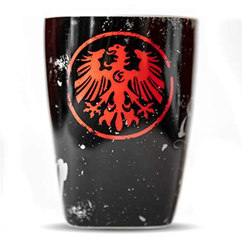 Eintracht Frankfurt Tasse - Retro 1920 - Kaffeetasse, Pott SGE - Plus Lesezeichen I Love Frankfurt