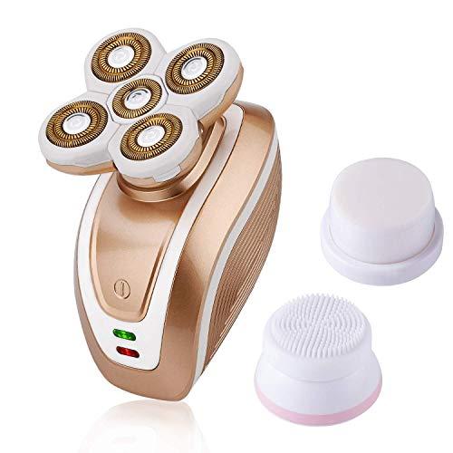 Afeitadora Eléctrica Para Mujeres 3 en 1 Afeitadora Eléctrica sin dolor Depiladora...
