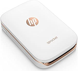 HP Sprocket Photo Printer (White) Instant. Shareable. Fun. Z3Z91A