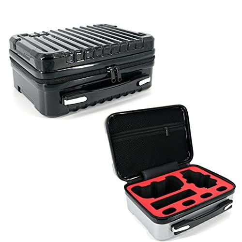 Caja de Almacenamiento portátil Impermeable Caja de Transporte Caja Fuerte para fimi x8 Mini RC Drone,Negro