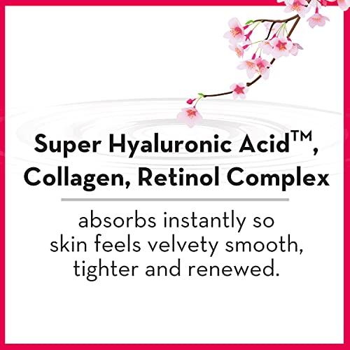 Hada Labo Tokyo Anti-Envejecimiento Hidratante 1.7 Fl. Oz - con ácido Super Hialurónico, colágeno y retinol Complex - ligero suero antienvejecimiento ayuda a aumentar la firmeza y elasticidad, libre de fragancia
