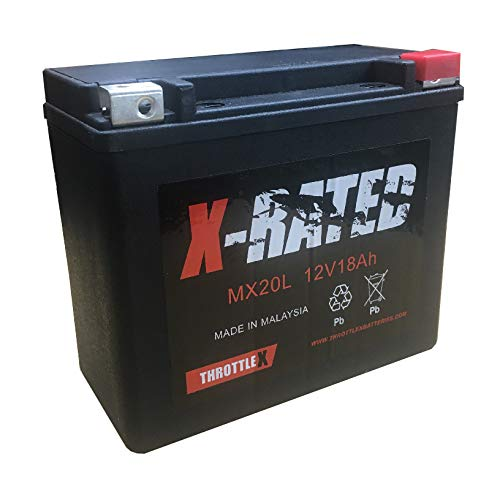 ThrottleX MX20L Motorcycle Battery