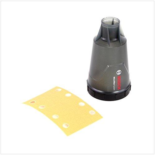 Bosch Professional Ponceuse vibrante GSS 160-1 A (180W, Régime à vide 12.000 tr/min, Pack d'accessoires)