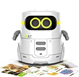 Robot Toys for Kids, AT Educational Interactive Toys with Touch Control for Playing Guess Game, Singing, Dancing, Voice Recording, Gift for Kids Age 3+