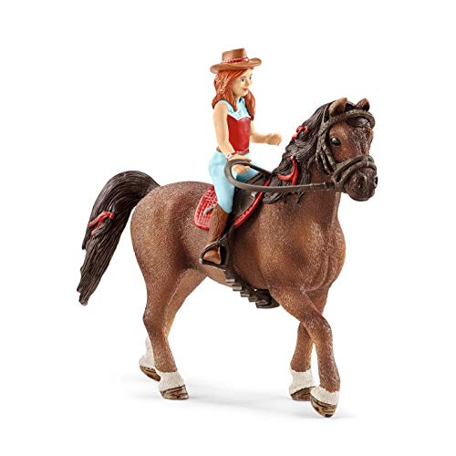 Schleich- Figurine Horse Club Hannah & Cayenne, 42514, Multicolore
