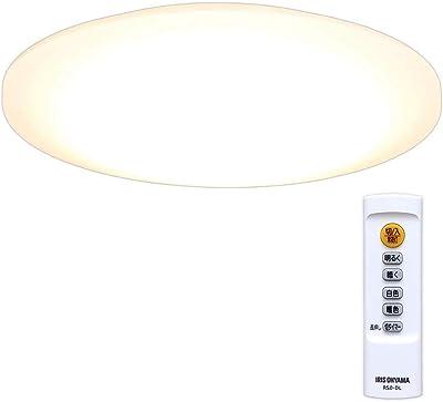 アイリスオーヤマ LEDシーリングライト 調光/調色 ~12畳 (日本照明工業会基準) 5200lm リモコン 省エネ 取付簡単 切タイマー CL12DL-5.0