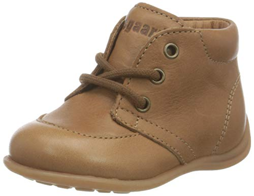 bisgaard luca lace Jungen Unisex Kinder First Walker Shoe, Cognac, 25 EU