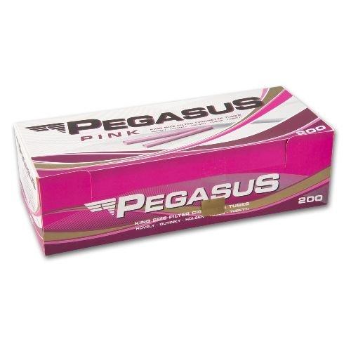 Zigarettenhülsen Pegasus Pink King Size 200 Stück