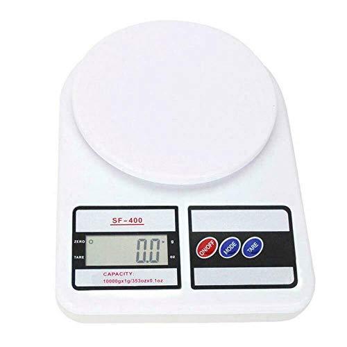 rongweiwang Escala del alimento SF400 Electrónico Alimentos Báscula Digital Equilibrio Digital LCD de Cocina Herramienta de medición