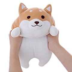 ♥The cute Shiba Inu plush pillow is the best gift for children, couples and friends. ♥Suitable for bedrooms, living rooms, homes, offices, nursery beds and every place you like. ♥I am a soft, chubby Corgi, very elastic, can hold me, pressure me, and ...