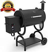 Z GRILLS 2019 Upgrade Model Wood Pellet Grill & Smoker, 8 in 1 BBQ Grill Auto Temperature Control, 538 sq inch Cooking Capacity