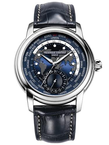 Frederique Constant Reloj Analógico para Hombre de Automático con Correa en Cuero FC718NWM4H6