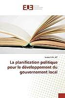 S. Pd., M: Planification politique pour le développement du