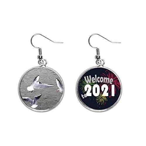 Pendientes de joyería de 2021 bendición de 2021