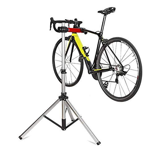 CHENJIU Bike Repair Stand - Bicycle Repair Mechanics Workstand, Foldable Maintenance Rack, Home Used Height Adjustable for Mountain or Road Bike Maintenance