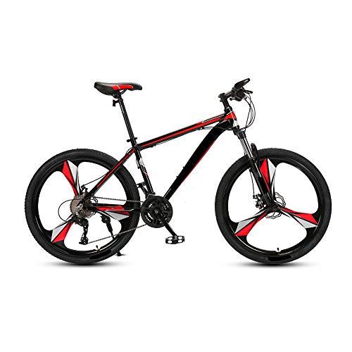 MH-LAMP a Bike Klapprad, Mountainbike 26 Zoll, Fahrrad 27 Gang, Rahmen aus Kohlenstoffstahl, Fahrrad mit Gabelfederung, Scheibenbremsen