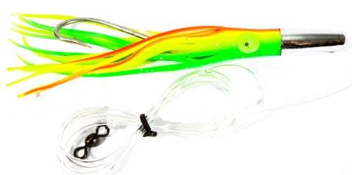 Boone Mahi Jet Rigged Bait, Chart Bright Green, 6 1/2-Inch