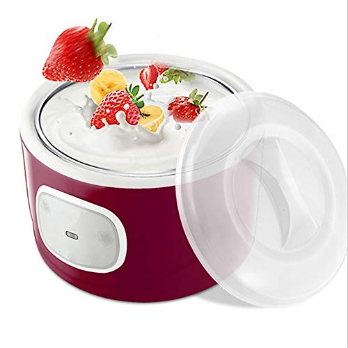 LHK Cuisine Yogurt Maker, Automatic Digital Machine with 4 Glass Jars, Customize Flavor and Thickness, Perfect for Homemade or Grab and Go Breakfast