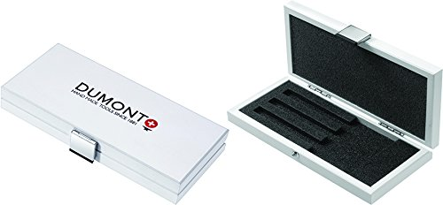 EMS BOX-W-003 Spring new work Dumont safety Tweezer Box Wood 3 Tweezers for