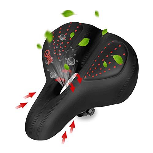 N / B Asientos de Bicicletas para Hombres y Mujeres Acolchado de Espuma de Alta Densidad, Duradero, Impermeable, prospectiva universalResistencia, leathematerial, formroducción