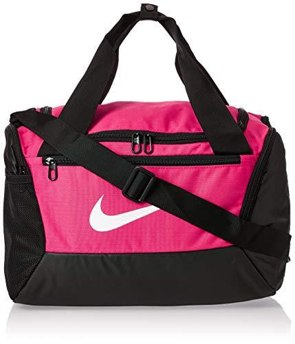 Nike Unisex-Adult Brasilia XS Carry-On Luggage, Rush Pink/Black/White, MISC