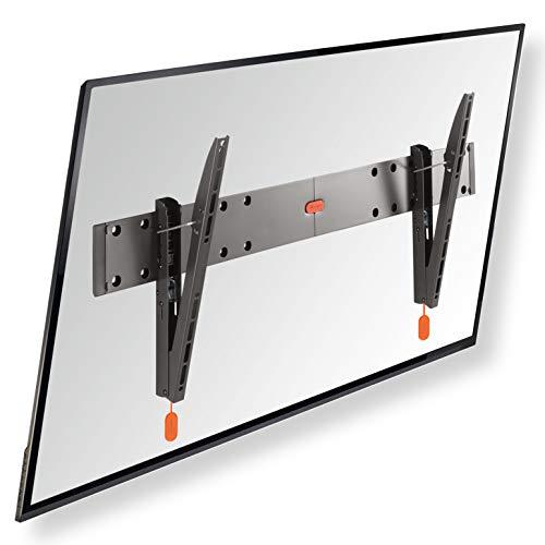 Vogel's BASE 15L neigbare TV Wandhalterung für 40-65 Zoll (102-165 cm) Fernseher, Max. 45 kg, Halterung auch fur LCD, LED, QLED und OLED Fernseher, TÜV-zertifiziert, VESA 100 x 100 bis 800 x 400