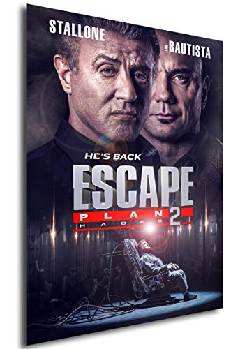 Instabuy Poster - Cartèl - Escape Plan 2 Hades Manifesto 70x50