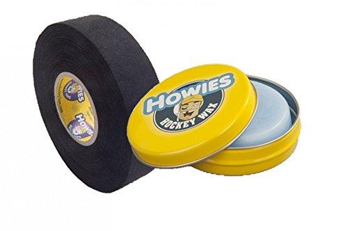 Howies Tape und Hockeywachs ice wax 80g, Eishockey schwarz