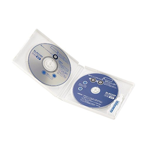 エレコム レンズクリーナー ブルーレイ用 CD/DVD用 2枚セット 読み込みエラー解消 湿式 PlayStation4対応 【日本製】 CK-BRP