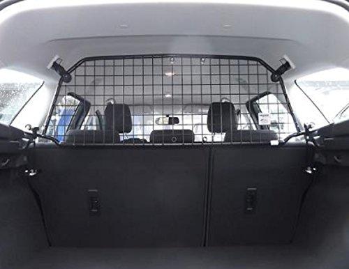 Kleinmetall Masterline passend für Ford Focus Turnier Bj. 2010 bis 2018 (3.te Generation, Typ DYB) passgenaues Trenngitter/Hundegitter/Gepäckgitter