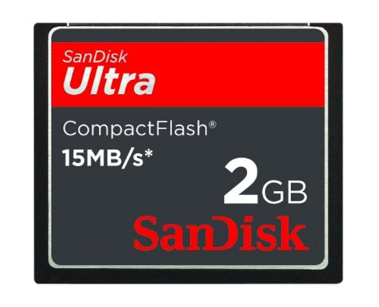 軽食クマノミ勧告SanDisk 2GB Ultra コンパクトフラッシュカード SDCFH-002G-A11 並行輸入品
