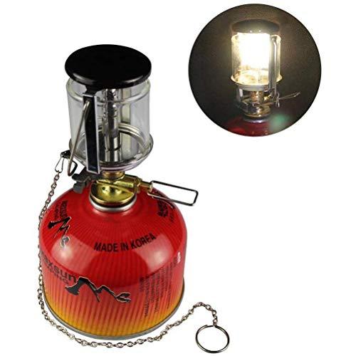 Mini draagbare camping licht outdoor camping kleine gaslamp camping verwarming tent licht zaklamp kroonluchter