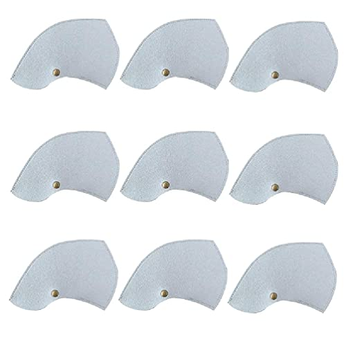 9 Pcs Simple Design Solid Color Golf Club Headcovers with Label PU Waterproof air purifier filter replacement air purifier filter replacement holmes air purifier filter replacement germ guardian air b