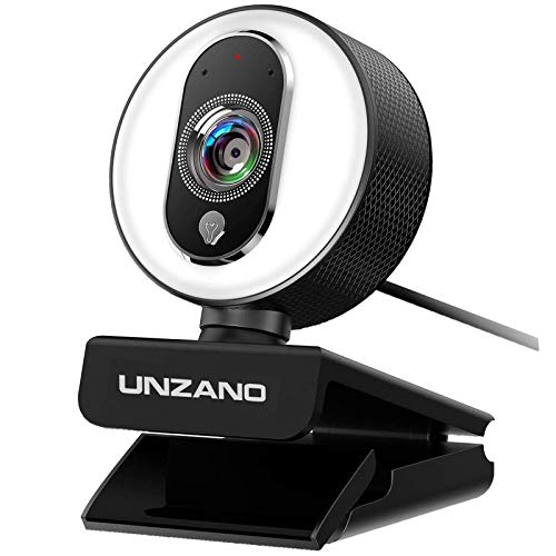 HD Webcam 1080P for Streaming With Ring...