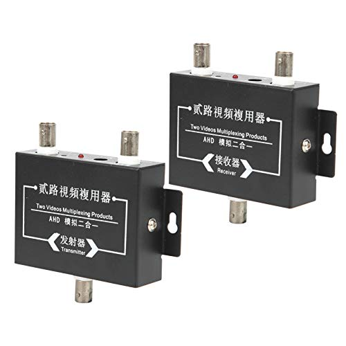 Transmisor de Video de 5MP, multiplexor de Video de 8 Canales, cámaras analógicas estándar para Sistemas de Seguridad CCTV Cámaras estándar Receptor Transmisor Reunión remota
