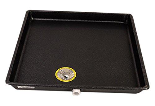 """Diversitech A/C Secondary Plastic Condensate Drain Pan, 24"""" x 24"""", Black (6-2424L)"""